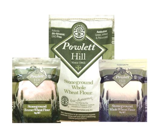 Powlett Hill | Bio-Dynamic Flour, Pasta & Eggs | Victoria